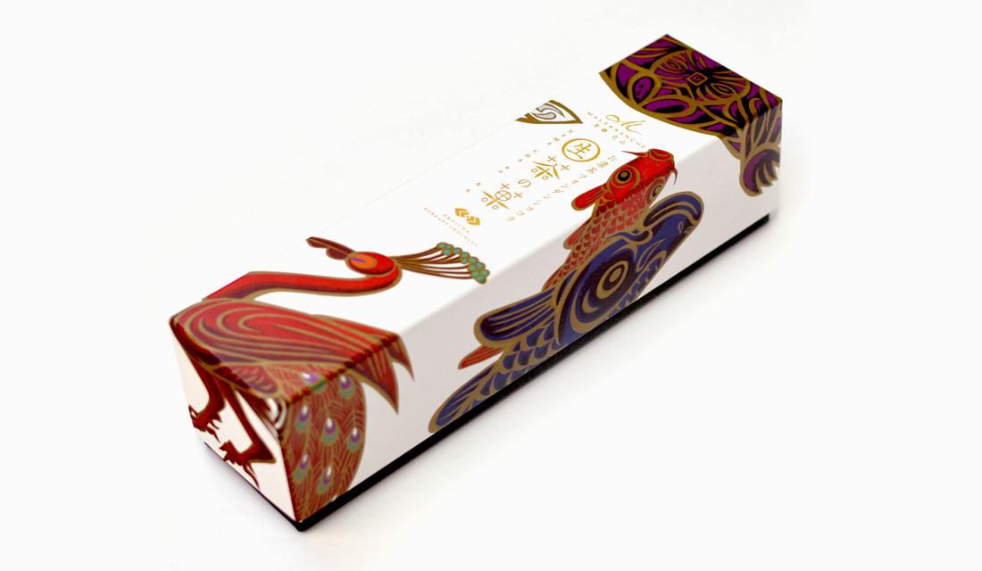 〈生茶の菓〉平安四神パッケージ
