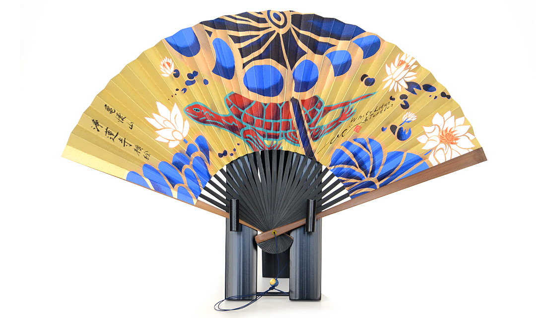 〈亀懐山 浄蓮寺〉記念品扇子