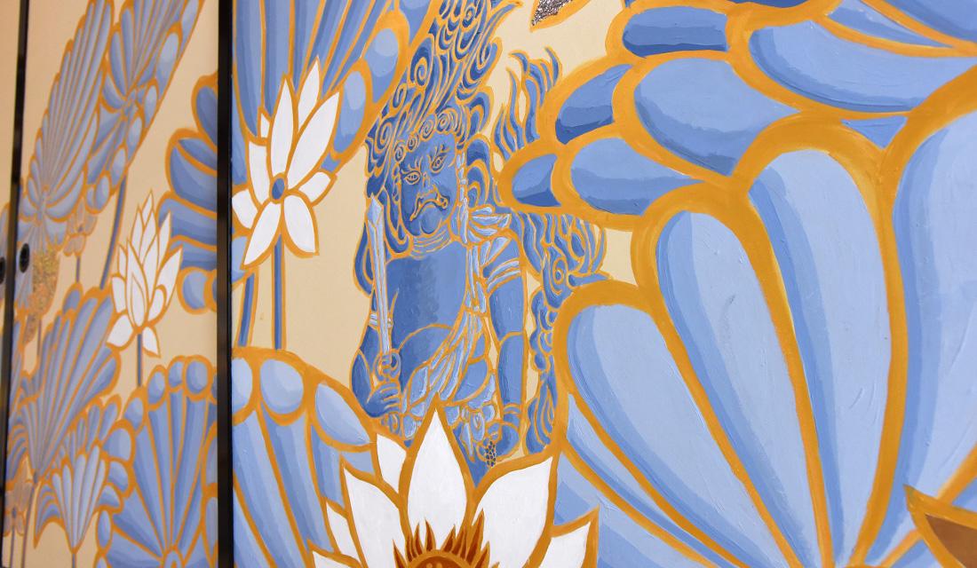 〈Lotus&Elephant in White〉 他