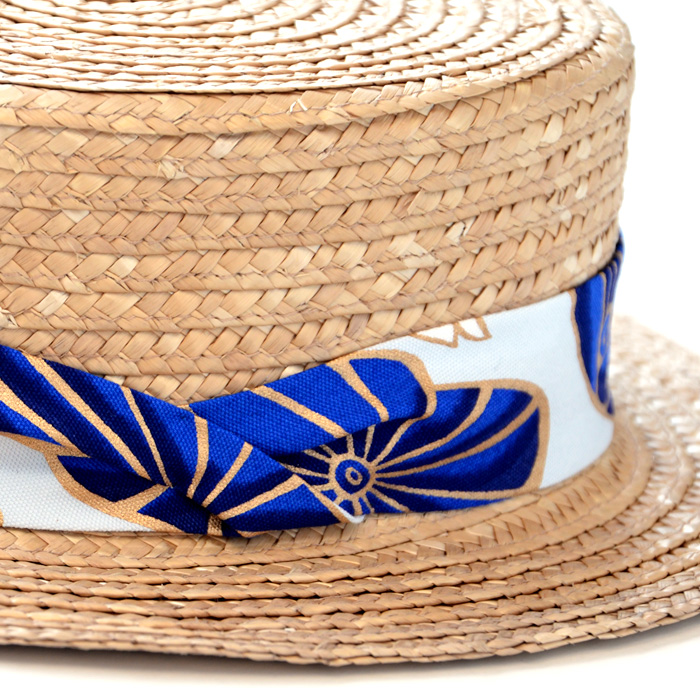 石田製帽ストローハット