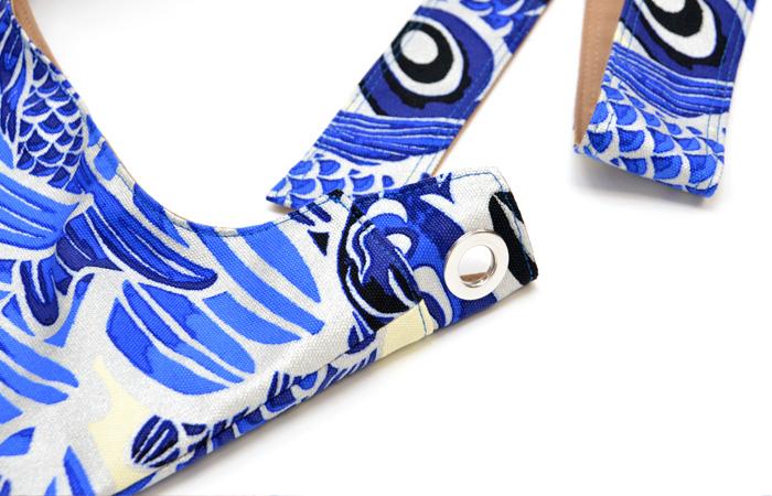 ファブリックショルダー〈Blue Carp〉
